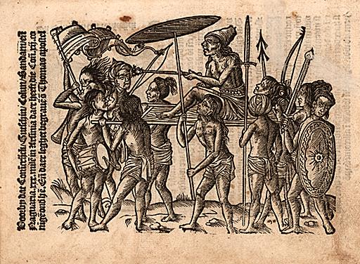 Balthasar Springer, Die reyse van Lissebone om te vare[n]na obsem eyelandt Naguarir in groot Indien gheleghen voor bi Callicuten, Antwerp, 1508.