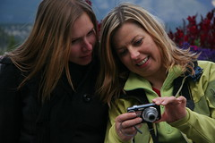 take look at my photo.. (iwona_kellie) Tags: camera trip friends slr digital canon photography eos rebel xt visit alberta banff rockymountains beata banffnationalpark