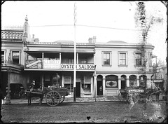 54-58 Hunter Street, Newcastle, NSW, [28 April 1891] (Cultural Collections, University of Newcastle) Tags: black newcastle store australia bookstore charleston nsw oyster saloon bodley stationary stationers 1891 newsagents hunterstreet hunterst ingall jblack ralphsnowball snowballcollection ralphsnowballcollection asgn0770b36 ingallandsons charlestonphotographes gebodleybooks gebodley luncheonrooms newcastleregionnswhistorypictorialworks hotelsnewsouthwales photographynewsouthwalesnewcastle
