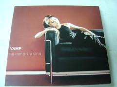 原裝絕版 1996年 12月18日 中森明菜 NAKAMORI AKINA VAMP  CD 原價  1500YEN 中古品