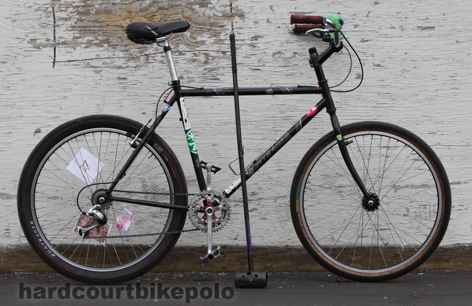 Kerry hardcourt polo bike full