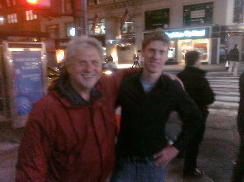 Ptw Dad and brother just happen to be in NYC too