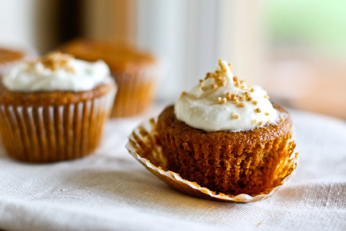 ... Pumpkin Cupcakes with Maple Cream Cheese Frosting and Michelle Branch
