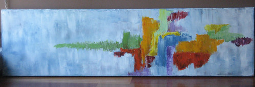 Abstract painting for Mom