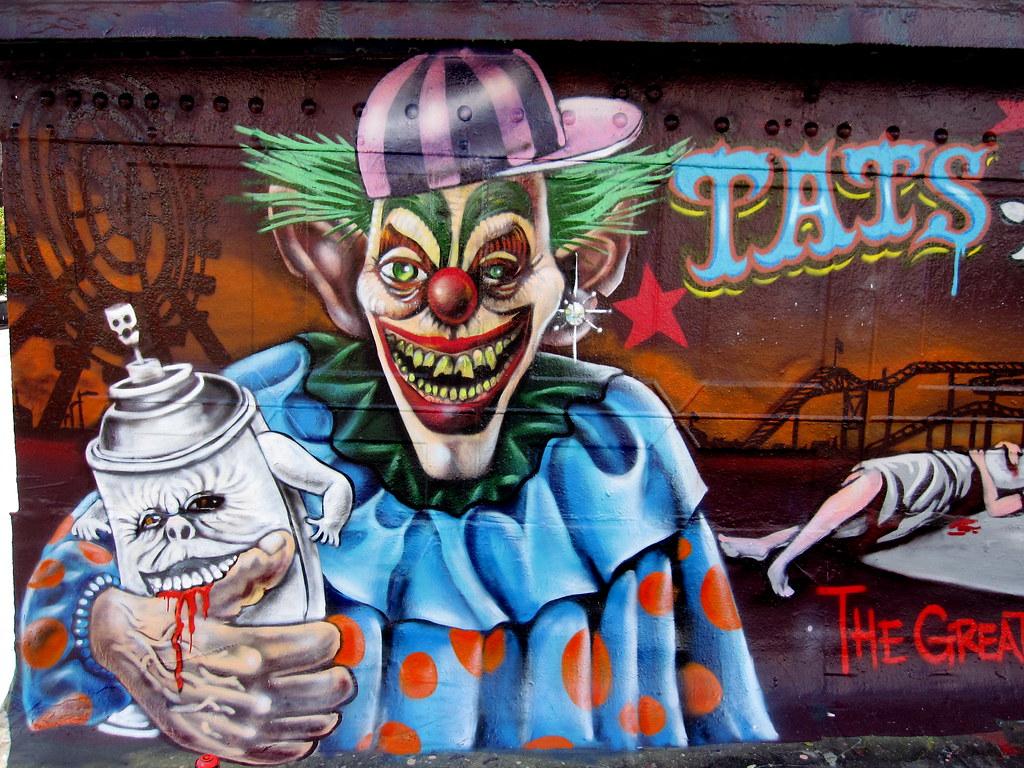 Graffiti creator images - Graffiti Clowns By Quot Bg183 Quot Tatscruinc Tags Birthday Streetart Newyork For
