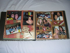Page 14-15 spread (Dixie Cheese) Tags: scrapbook rps kimmy