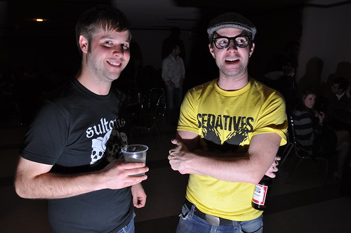 Evil Luke and Jordy at Montgomery Legion Hall