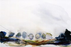 Morning Mist - 2001 (Louisa Boyd) Tags: art landscape artist watercolour multimedia landscapepainting louisaboyd landscapeartist
