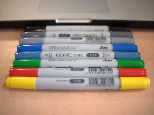 Copic Double-ended Markers