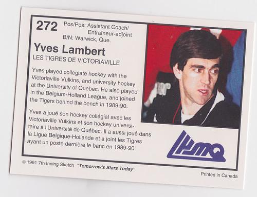Coach - Yves Lambert Back