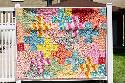 Folksy Flannels Plus Quilt
