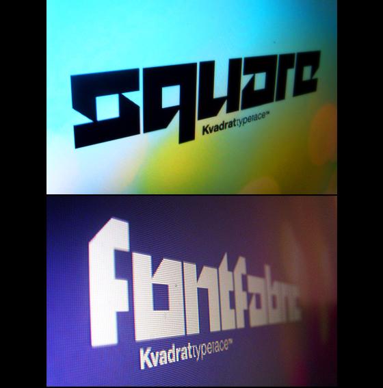 Kvant typeface