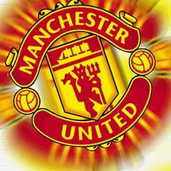 Hey! Manchester United logo