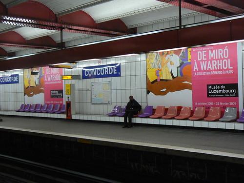 Paris metro ad