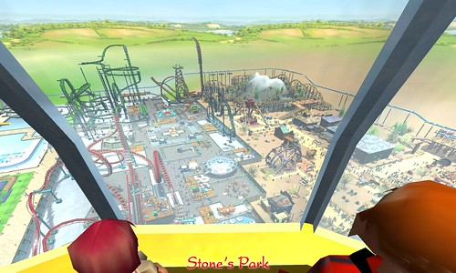 RollerCoaster Tycoon 3 in the Sandbox (many pics) | Gamers With Jobs