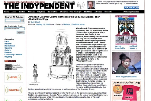the indypendent