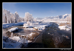 Along the Gros Ventre - The value of RAW (James Neeley) Tags: winter panorama cold landscape frozen raw tutorial grandtetonnationalpark gtnp jamesneeley grosventreriver