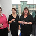 At the Ulster Hall reopening in March announcement are Carol Abel, Alison McCann, Patricia Wilson and Claire Henry.