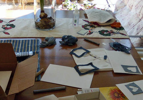 creating...a mess!