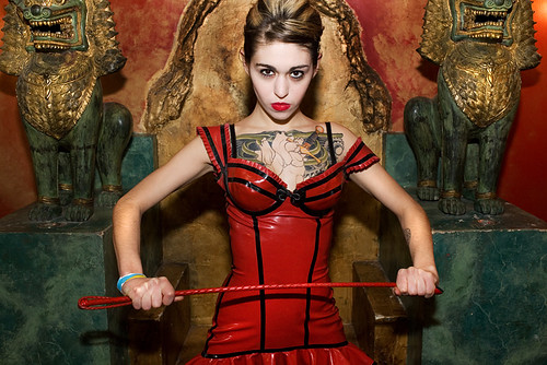 dominatrix with whip