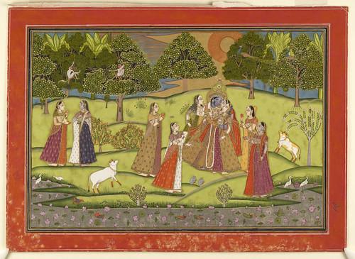 013- Pintura india siglos XVIII- XIX