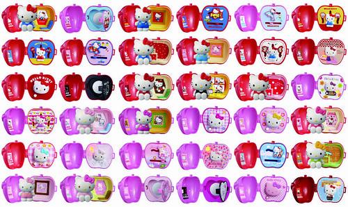 日本麥當勞贈送玩具-36種Kitty