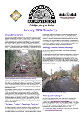 January 2009 newsletter