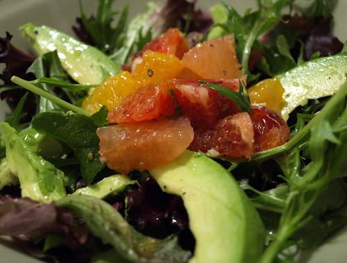 Citrus Salad with lemon-lime vinaigrette