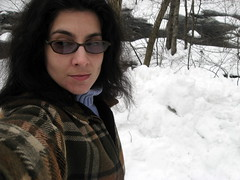 9/365 (mamabrarian) Tags: snow me river 365days nissitissit