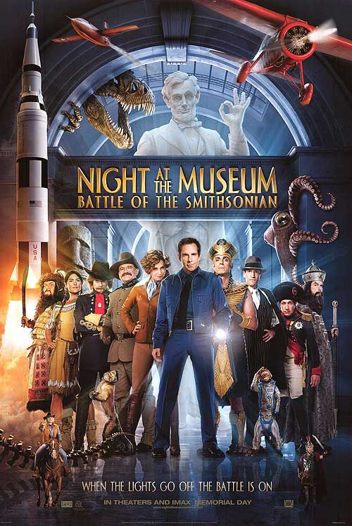 Night at the Musuem: Battle of the Smithsonian