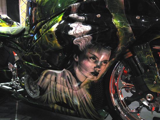 Bride of Frankenstein Chopper (Click to enlarge)