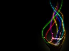 Pride (samthate) Tags: color lines rainbow hand power sam artistic super human streams hue thate