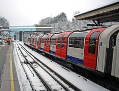 North Acton Station (brian.mickey) Tags: snow london acton londonsnow