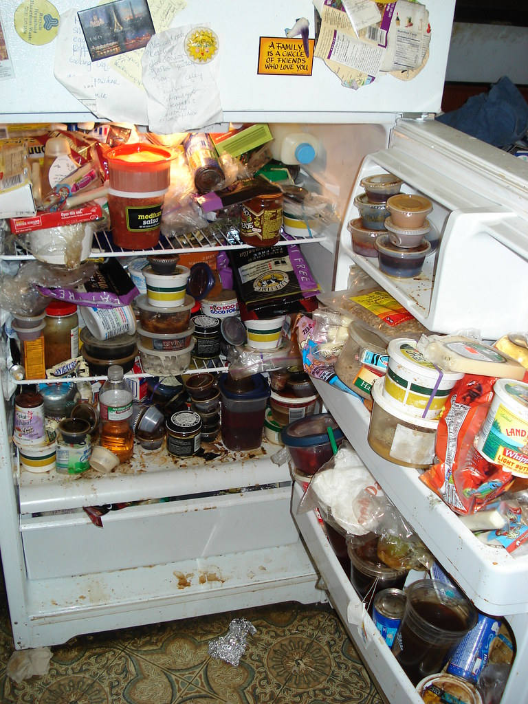 Hoarders fridge