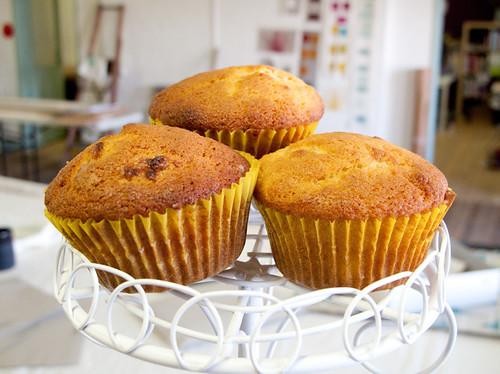 Banana Cake Muffins!