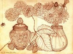 Raspberries and Dandelions