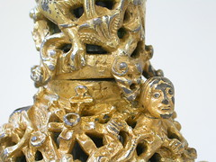 Detail of the Gloucester Candlestick, Museum no. 7649-1861.