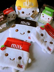 Happy Milk set (xiwang.love) Tags: toy milk plush kawaii holder janetstore