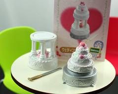 Re-Ment: Wedding Cake from Dessert Shop 2, Secret Set V2