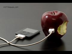 iRecharge (ICT_photo) Tags: apple ipod itunes plug recharge ictphoto ifonlyitcouldstoremusicpluggingintoarealapplehasgottobeeasierthenusingitunes ianthomasguelphontario