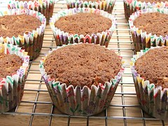 Carrot Coconut Cupcake Fresh from the Oven