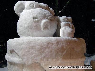 Onsen bear