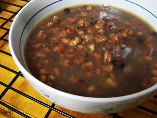 azuki pearl barley soup
