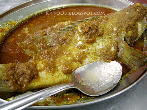 Steamed Fish with Tom Yam Gravy