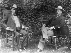 William McKinley and Theodore Roosevelt