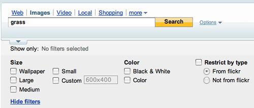 Yahoo Image Filters