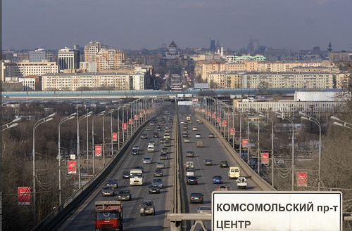 Moscow, Komsomolsky Avenue ©  Nickolas Titkov