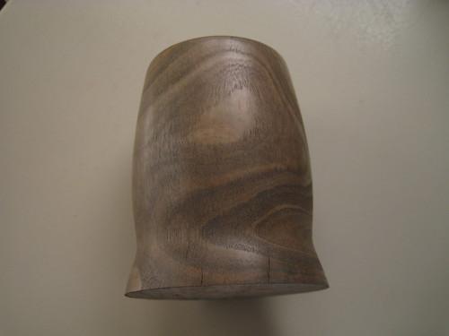 splits in a Eucalyptus cup