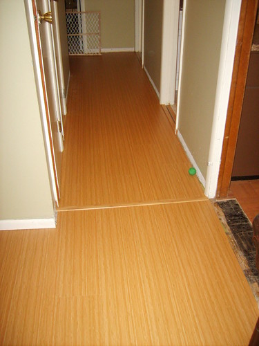 Bambood Laminate Floor finished