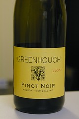 2005 Greenhough Nelson Pinot Noir